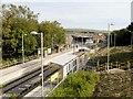 SD9212 : Metrolink Station at Milnrow by David Dixon