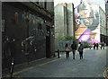 NS5865 : Mitchell Street graffiti style murals by Thomas Nugent