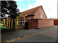SJ6511 : Memorial Hall, Wrekin College, Wellington  by Jaggery