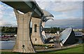 NS8580 : Falkirk Wheel by Anne Burgess