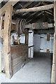 SJ4570 : Mickle Trafford Mill - sack hoist by Chris Allen