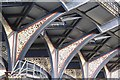 TQ3381 : Liverpool Street Station - cast iron roof supports : Week 44