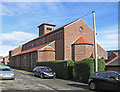 SE3600 : Hoyland - St Helen's RC Church by Dave Bevis