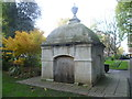 TQ2881 : Mausoleum to Susanna Fitzpatrick in Paddington Street Gardens by Marathon