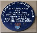 Photo of Scarborough Spa blue plaque