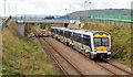 J4187 : Train, Barn, Carrickfergus (1 in 2013) by Albert Bridge