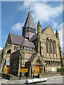 NZ2564 : St. James's United Reformed Church, Northumberland Road, NE1 by Mike Quinn