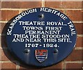 Photo of Theatre Royal, Scarborough blue plaque