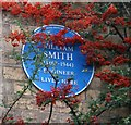 Photo of Harry William Smith blue plaque