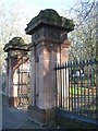 SP0588 : Key Hill Cemetery, Hockley, Icknield Street entrance by Robin Stott