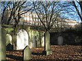 SP0588 : Key Hill Cemetery, Hockley: former catacombs by Robin Stott