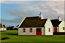 M2808 : Burren Cottages along N67 just north of Bealaglugga  by Joseph Mischyshyn