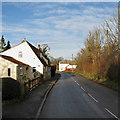 TL4551 : Little Shelford: the south end of High Street by John Sutton