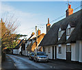TL4948 : Pampisford High Street in December by John Sutton