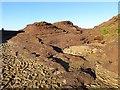 NT6084 : Eroded rock, Seacliff : Week 52(part1)