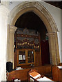 TL2755 : Organ of St Peter and St Paul Church, Little Gransden by Adrian Cable
