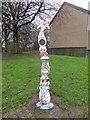 NS5467 : Millennium milepost, Westland Drive by Richard Webb