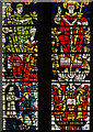 TR1557 : Detail, St Anselm Window, Canterbury Cathedral by Julian P Guffogg