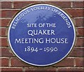 Photo of Quaker Meeting House, Scarborough blue plaque