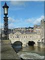 ST7564 : Bath - Pulteney Bridge and weir : Week 7