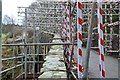 NT2339 : Scaffolding on the Old Manor Brig (2) by Jim Barton