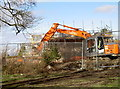 ST6167 : New homes going up by Neil Owen