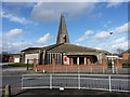 SP1484 : St Thomas More church in Sheldon by Richard Law