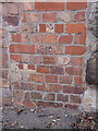 SJ6703 : OS benchmark - Ironbridge, Madeley Road by Richard Law
