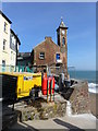 SX4350 : Clock tower at Kingsand, Cornwall by Ruth Sharville