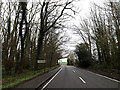 TM2898 : Entering Kirstead on the B1332 Norwich Road by Adrian Cable