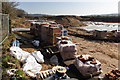 SP2754 : Storage area on new housing development by David P Howard