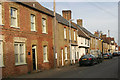 TL2352 : Gamlingay - cottages on north side of Church Street by David Kemp