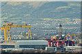 "J3575 : The ""Blackford Dolphin"", Harland & Wolff, Belfast (March 2014) by Albert Bridge"