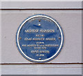 Photo of Isaac Merritt Singer and Paris Singer blue plaque