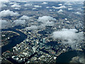 TQ3779 : The Isle of Dogs from the air by Thomas Nugent