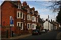 SP9556 : High Street, Harrold by David Kemp
