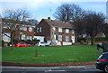 TQ7669 : Swan Gardens War Memorial by N Chadwick