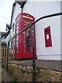 SZ3888 : Wellow: postbox № PO41 79, Wellow Top Road by Chris Downer