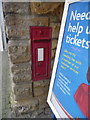 ST6416 : Sherborne: disused postbox at the station by Chris Downer