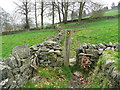 SE0420 : Stile on Ripponden FP58 by Humphrey Bolton