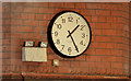 C9425 : The station clock, Ballymoney by Albert Bridge