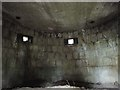 TG2733 : Inside a WW1 pillbox by Adrian S Pye