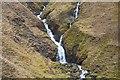NH0023 : Waterfall on A' Ghlas-bheinn by Jim Barton