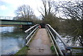 SP5005 : Thames Path over Bulstake Stream by N Chadwick