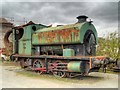NY3224 : Rusting Locomotive, Threlkeld Quarry and Mining Museum by David Dixon