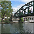 TL4659 : Green Dragon Bridge: work on the north abutment by John Sutton