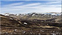 NO0276 : View across Gleann Mòr by William Starkey
