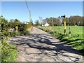 SD5910 : Footpath Sign on Arley Lane by David Dixon