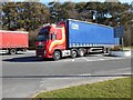 NY6006 : Lorry Park, Tebay Services (Northbound) by David Dixon