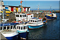 NX1898 : Fishing Boats in Girvan Harbour : Week 16